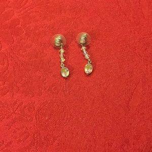 Swarovski Iridescent Drop Earrings